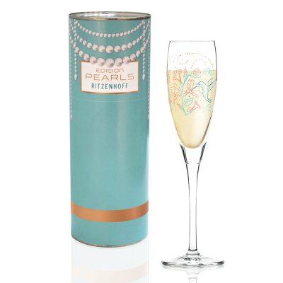德國 RITZENHOFF PEARLS EDITION 珍珠氣泡酒杯-繽紛花園