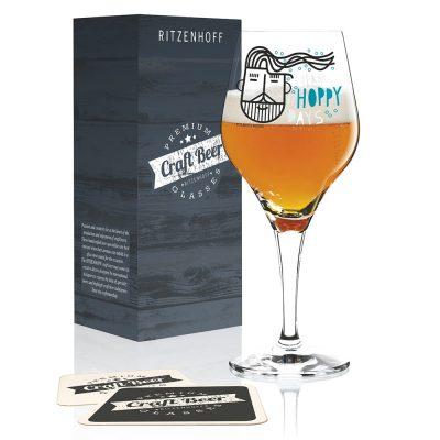 德國 RITZENHOFF CRAFT BEER 手工精釀啤酒杯-啤酒花型男