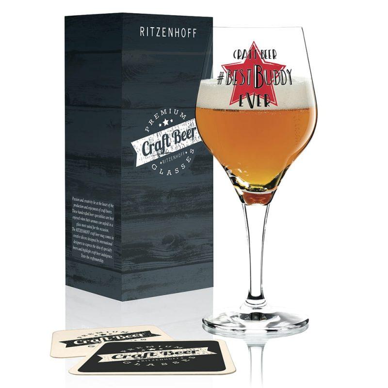 德國 RITZENHOFF CRAFT BEER 手工精釀啤酒杯-最佳伙伴