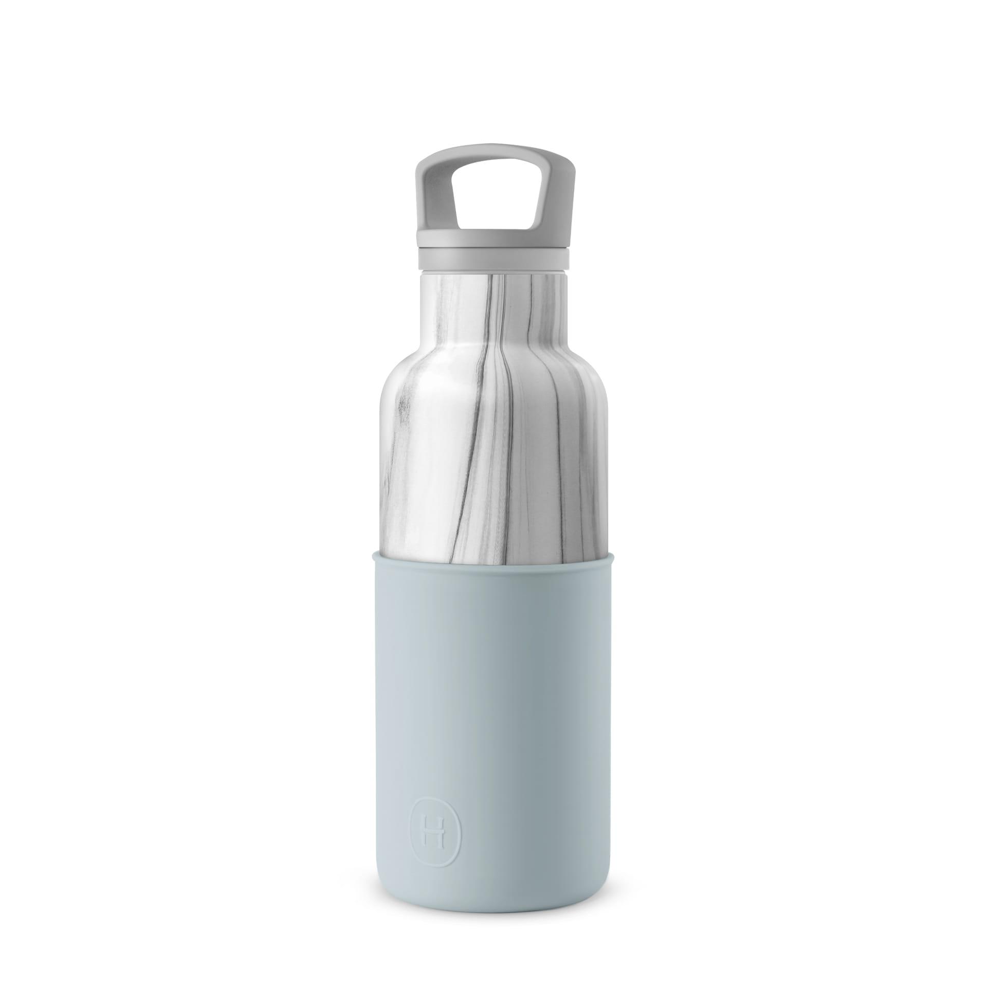 美國 HYDY 時尚不銹鋼保溫水瓶 480ml 大理石紋瓶 (積雲)