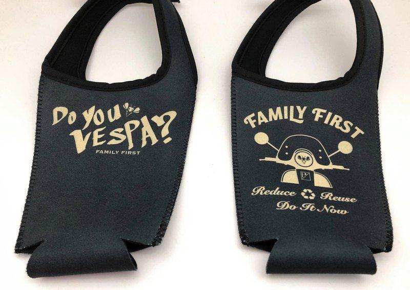 BLR 環保 飲料 保冰提袋 VESPA 偉士牌 車友版