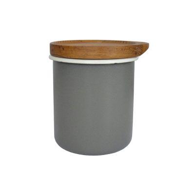 CB都會系列琺瑯原木製物罐
