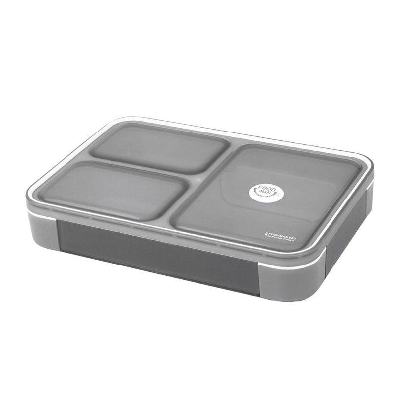 CB Japan 時尚巴黎系列纖細餐盒600ml 時尚灰