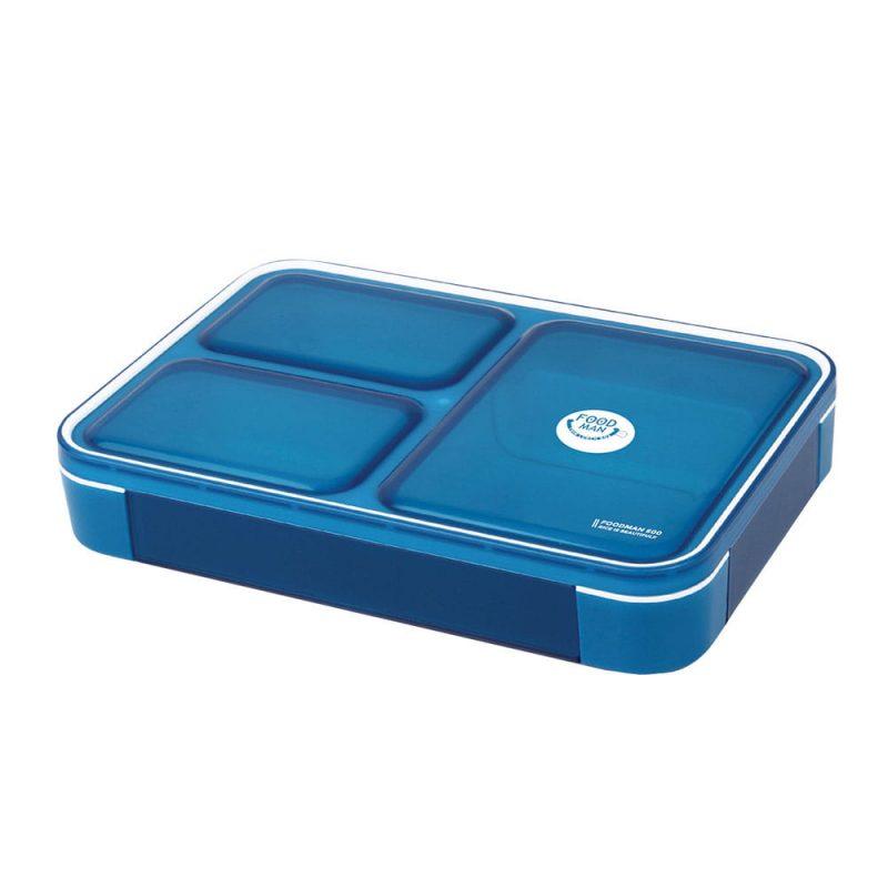 CB Japan 時尚巴黎系列纖細餐盒600ml 時尚藍