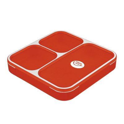 CB Japan 時尚巴黎系列纖細餐盒800ml 時尚紅