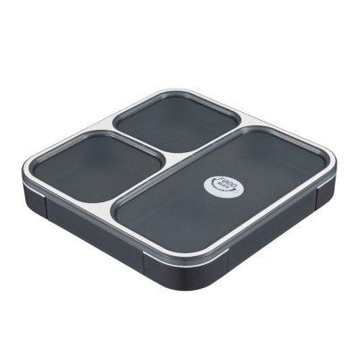 CB Japan 時尚巴黎系列纖細餐盒800ml 時尚黑