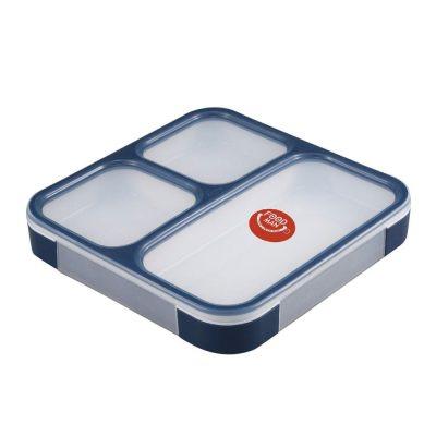 CB Japan 時尚巴黎系列纖細餐盒800ml 海軍藍