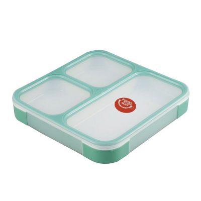CB Japan 時尚巴黎系列纖細餐盒800ml 湖水綠