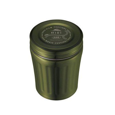 CB Japan MiDi 城市系列雙層保冷保溫湯壺350ml - 橄欖綠