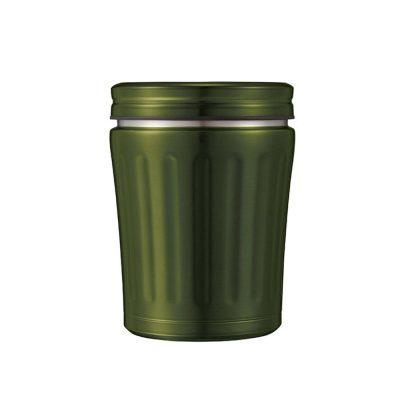 CB-MiDi城市系列雙層保冷保溫湯壺350ml(橄欖綠)1
