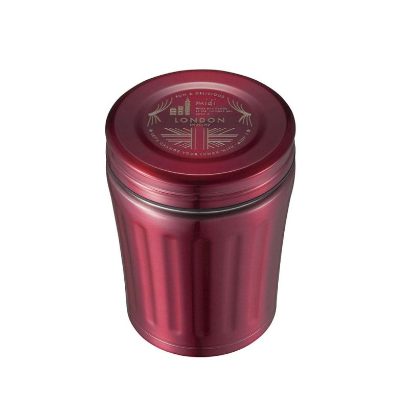 CB Japan MiDi 城市系列雙層保冷保溫湯壺350ml - 粉紅桃