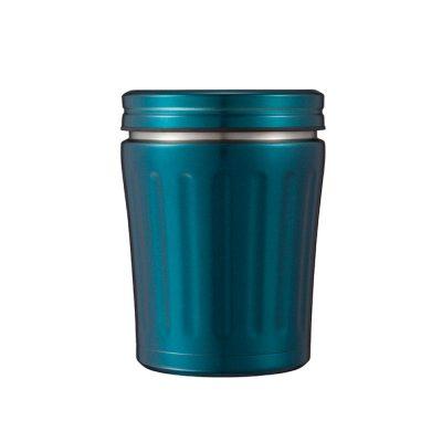 CB-MiDi城市系列雙層保冷保溫湯壺350ml(金屬藍)1