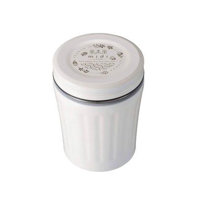 CB-MiDi城市系列雙層保冷保溫湯壺350ml(限定白)