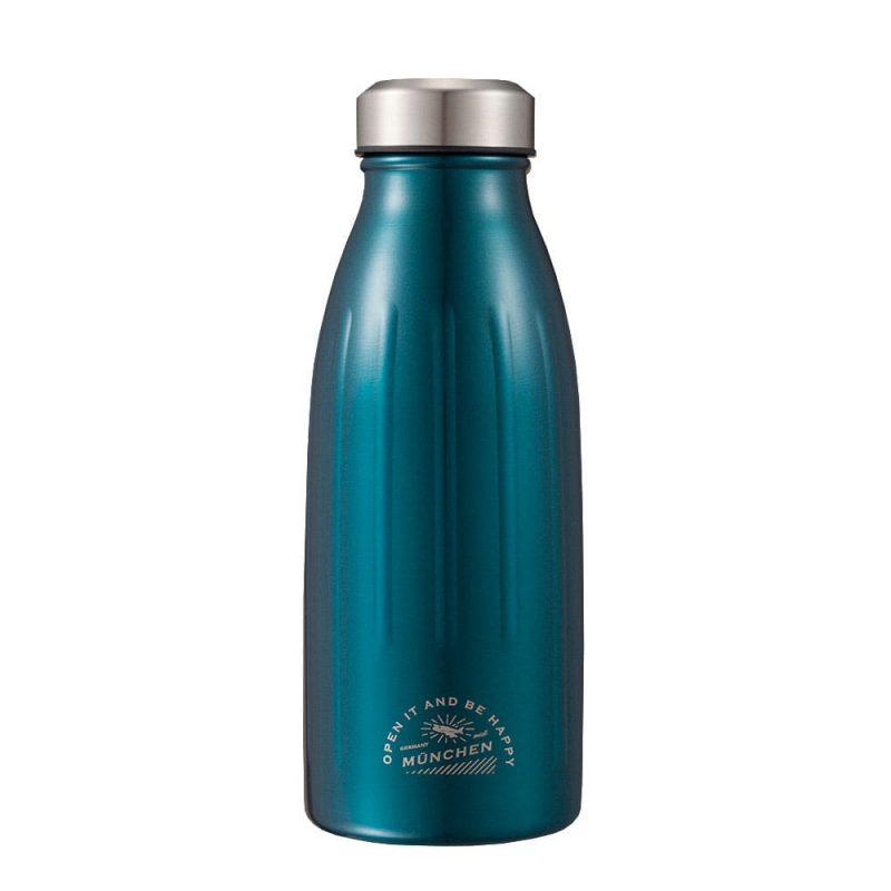 CB Japan MiDi 城市系列雙層保冷保溫瓶350ml - 金屬藍