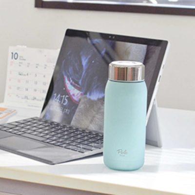 CB-Perle粉色佳人雙層保冷保溫杯355ml天空藍1