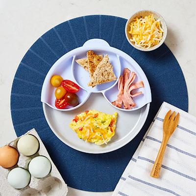 美國 BONNSU - 天然竹纖維兒童餐具