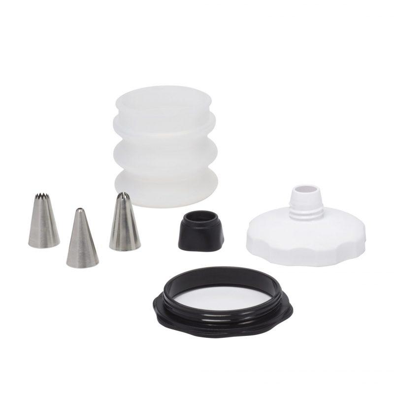 美國 OXO 好好握矽膠擠花瓶四件組