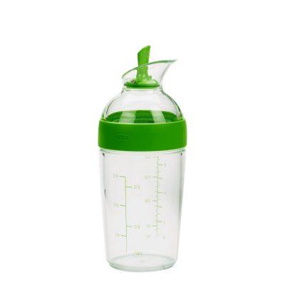 美國 OXO 醬汁搖搖量杯 快樂綠