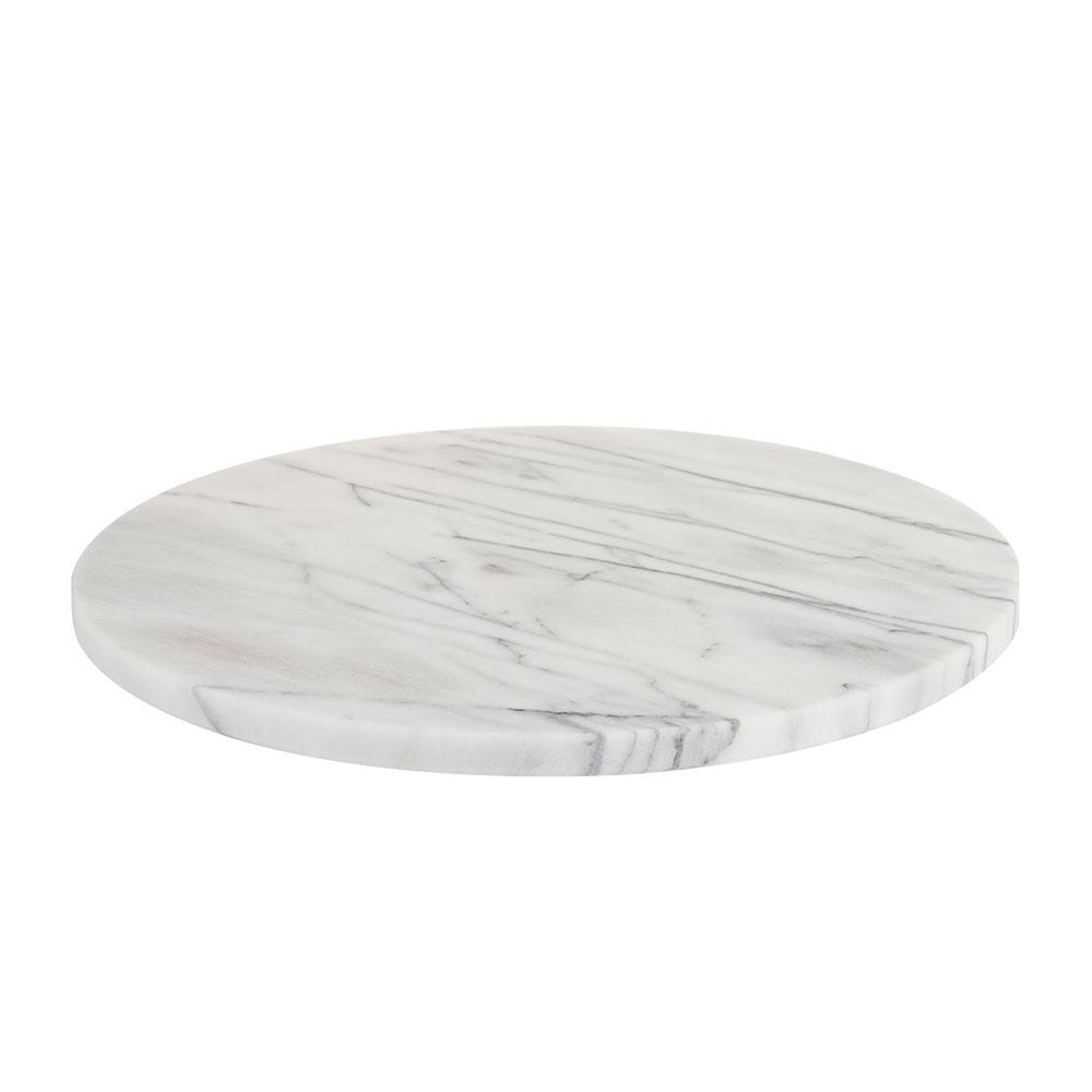 JEmarble 大理石蛋糕圓形轉盤 / 低腳款 46cm