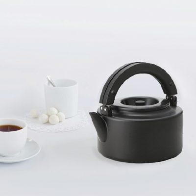 CB北歐系列琺瑯泡茶兩用壺-時尚黑2