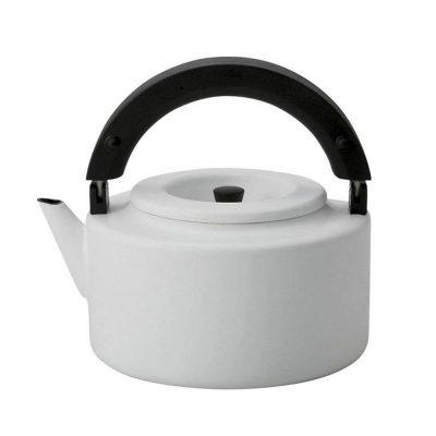 CB北歐系列琺瑯泡茶兩用壺-紳士白