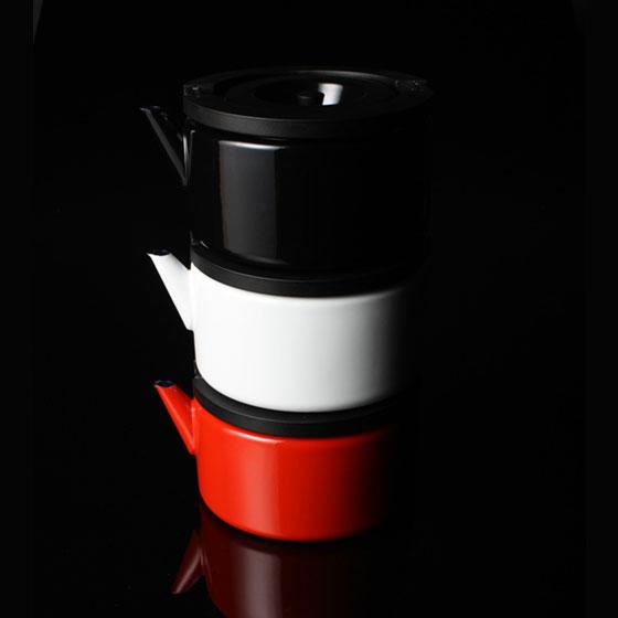 CB北歐系列琺瑯泡茶兩用壺