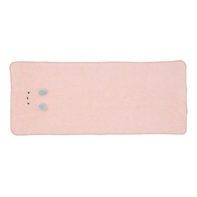 CB-動物造型超細纖維擦頭巾(小白兔粉)1