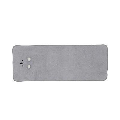 CB-動物造型超細纖維毛巾(無尾熊灰)1