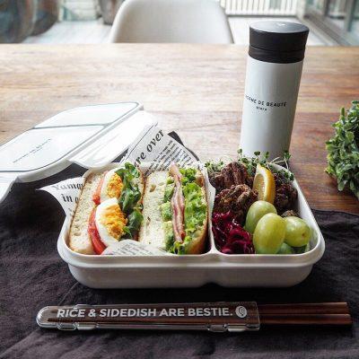 CB-巴黎系列輕食餐盒700ml(典雅白)1