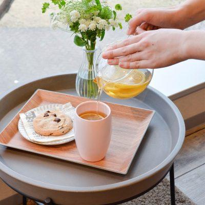 CB-粉色佳人雙層不鏽鋼陶瓷茶杯350ml-1