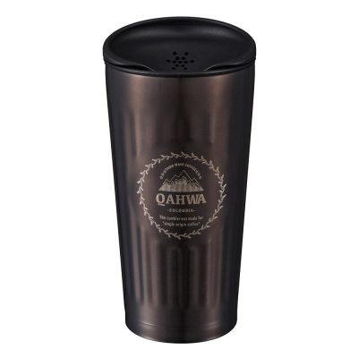 CB Japan Qahwa 第三波聞香隨行咖啡專用保冷保溫杯 深鐵灰