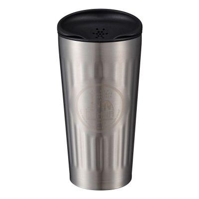 CB Japan Qahwa 第三波聞香隨行咖啡專用保冷保溫杯 酷炫銀