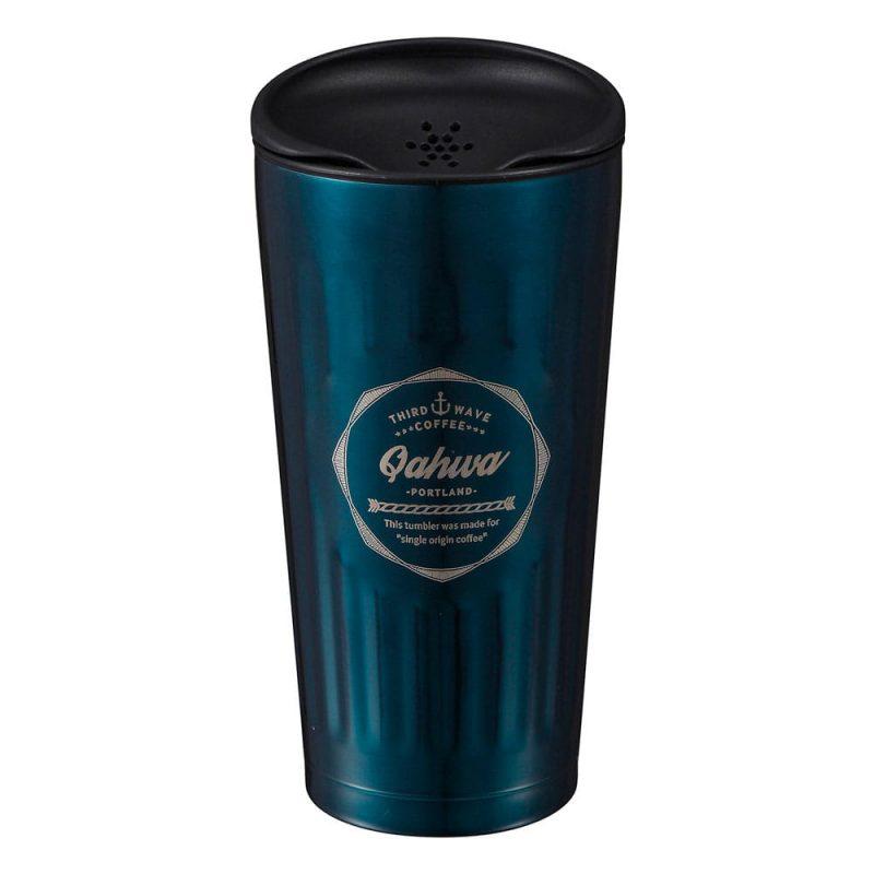 CB Japan Qahwa 第三波聞香隨行咖啡專用保冷保溫杯 金屬藍