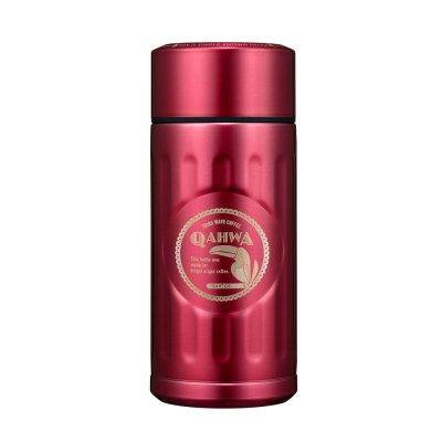 CB-Qahwa-mini精品咖啡專用保冷保溫杯(粉紅桃)