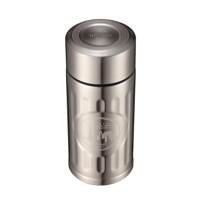 CB Japan Qahwa mini 精品咖啡專用保冷保溫杯 酷炫銀