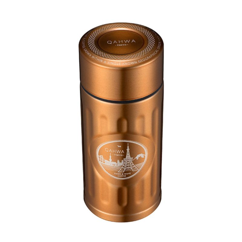 CB Japan Qahwa mini 精品咖啡專用保冷保溫杯 香檳金