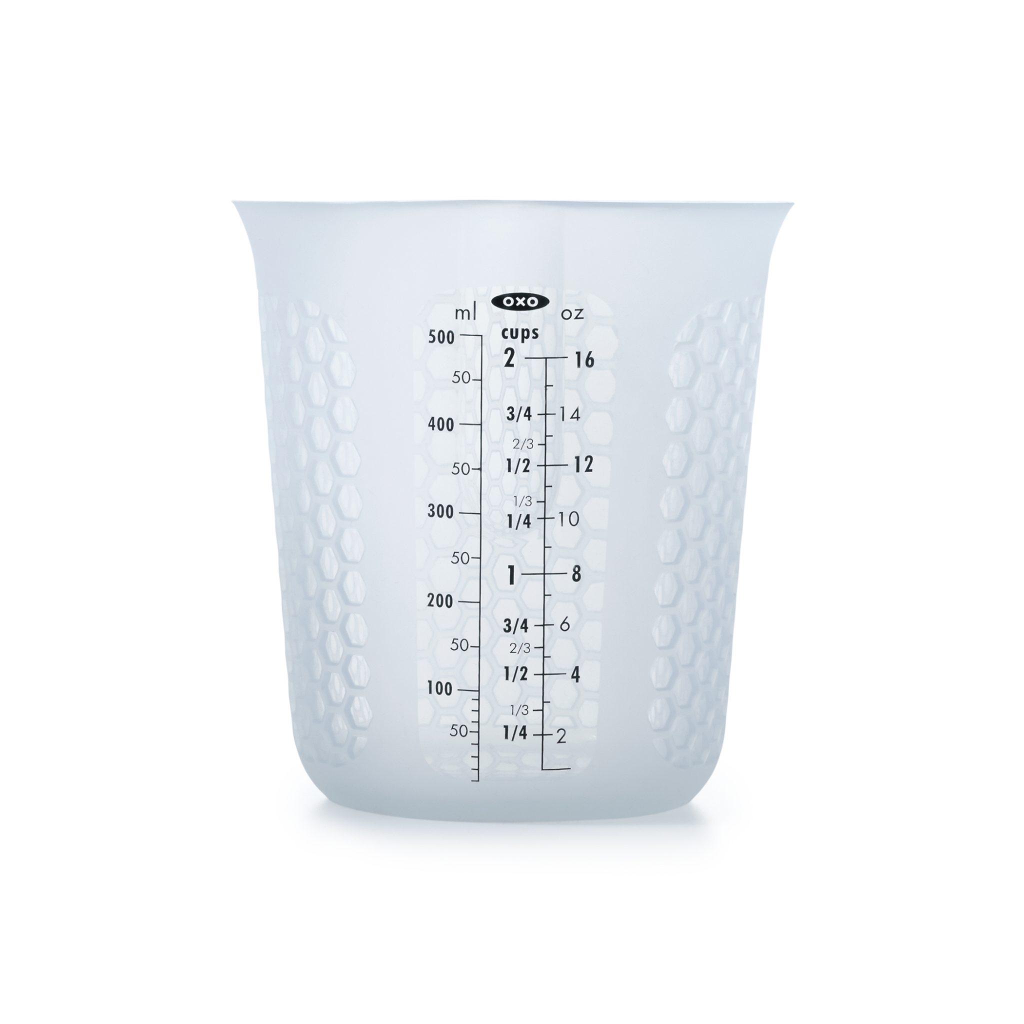 美國 OXO 矽膠軟質量杯 0.5L