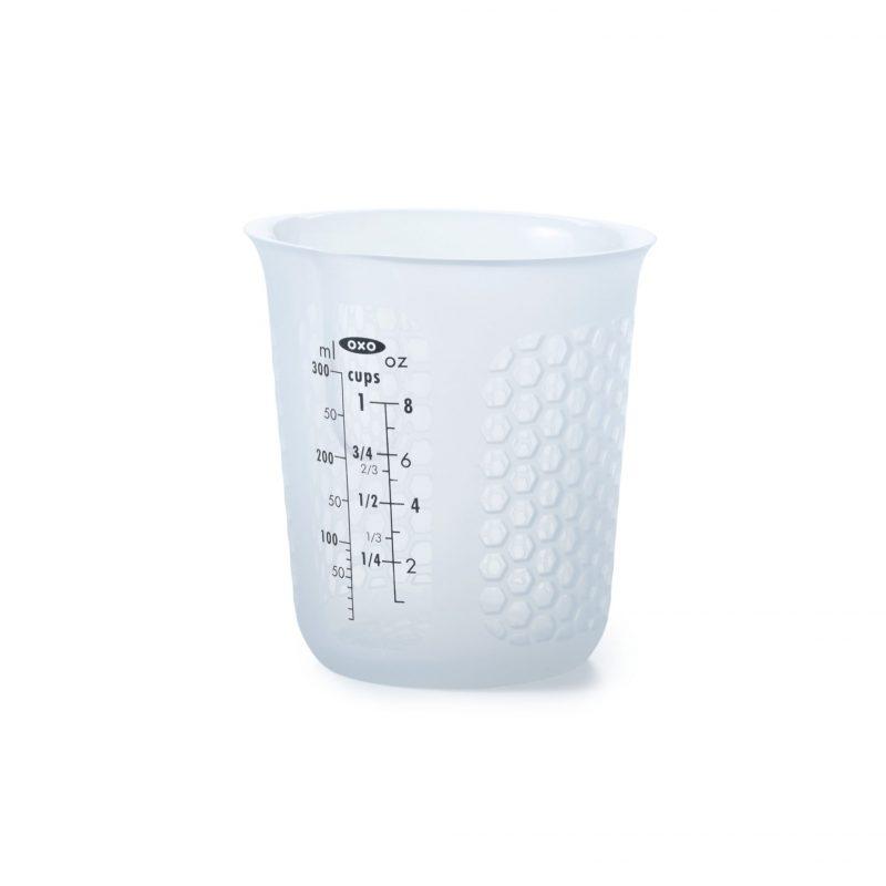 美國 OXO 矽膠軟質量杯 0.25L