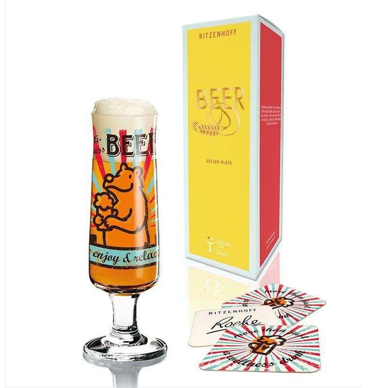 德國 RITZENHOFF BEER 新式啤酒杯-熊愛啤酒