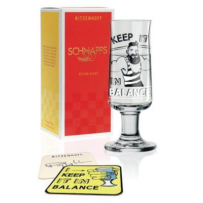 德國 RITZENHOFF SCHNAPPS 新式烈酒杯 健肌士
