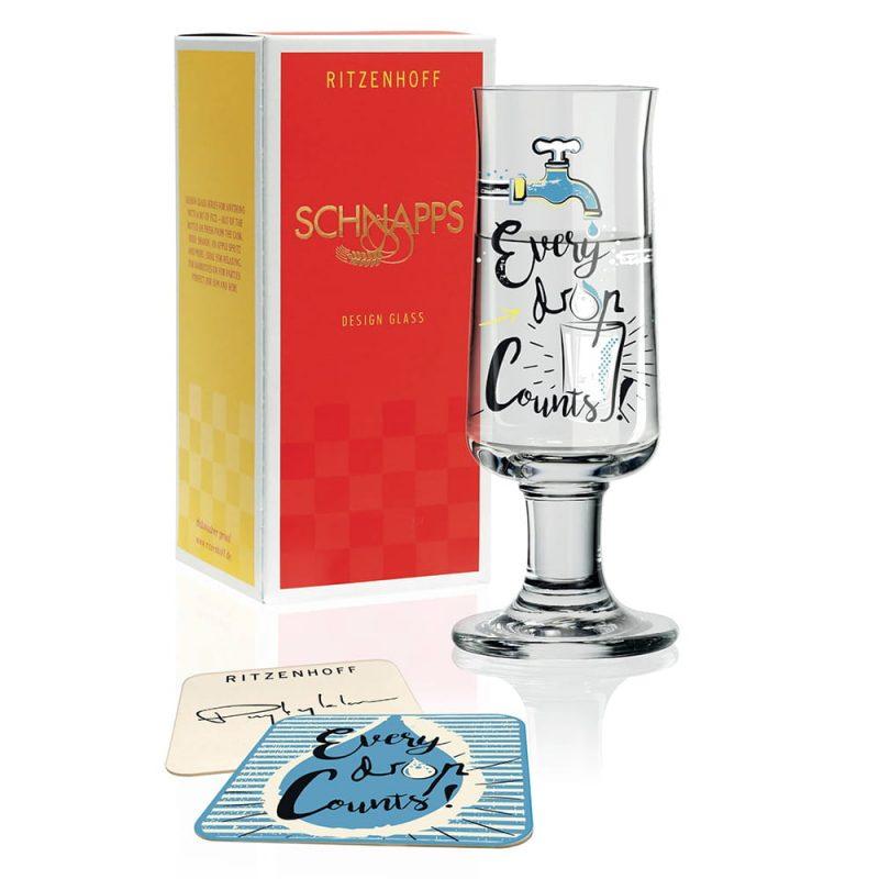 德國 RITZENHOFF SCHNAPPS 新式烈酒杯 滴酒不漏