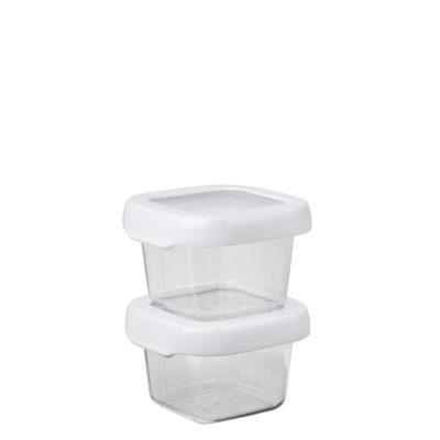 美國 OXO 好好開密封保鮮盒 兩件組 120ml