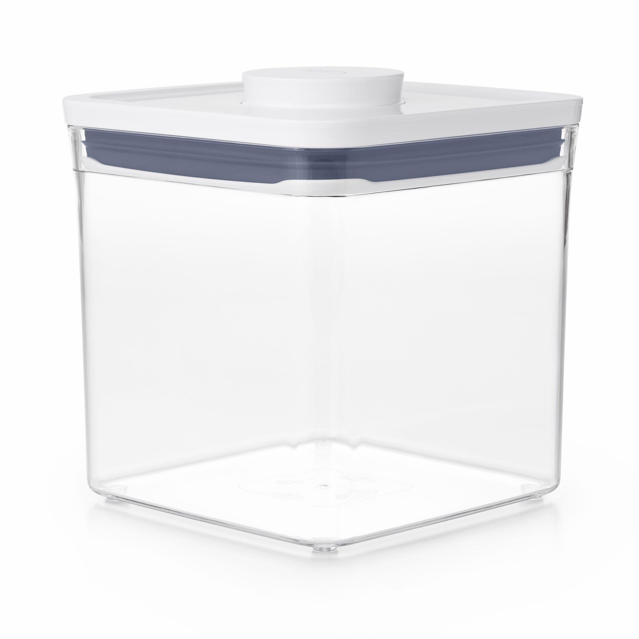 美國 OXO POP 大正方按壓保鮮盒 2.6L
