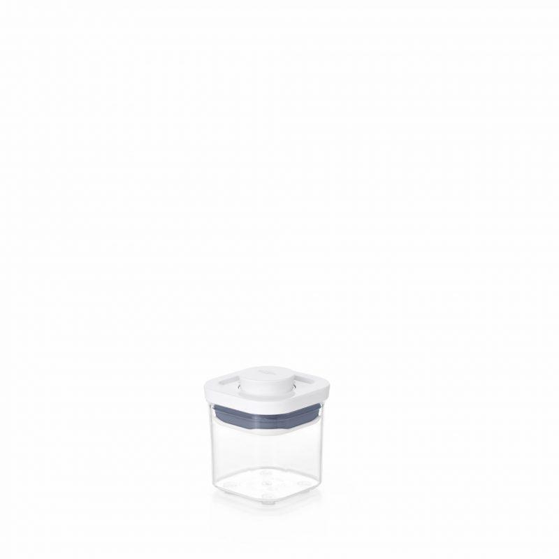 美國 OXO POP 小正方按壓保鮮盒 0.2L