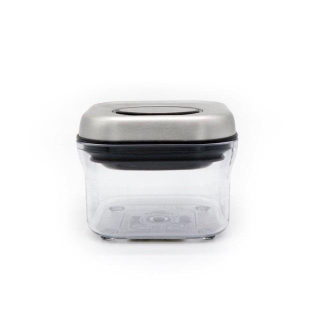 OXO POP 正方不鏽鋼保鮮收納盒 0.3L