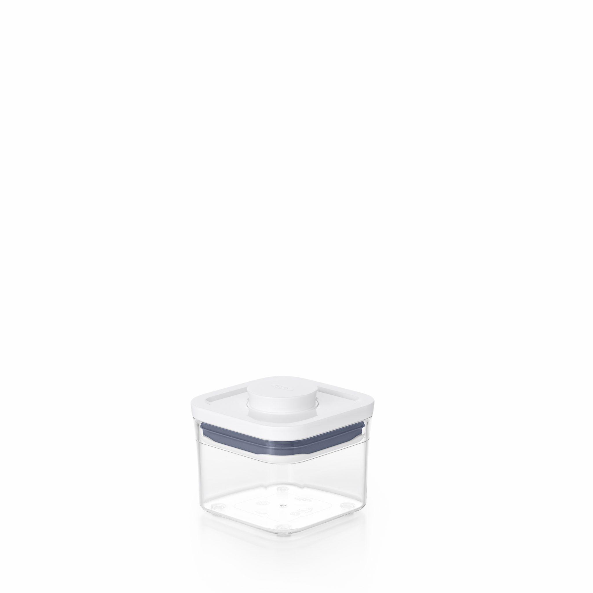 美國 OXO POP 正方按壓保鮮盒 0.4L