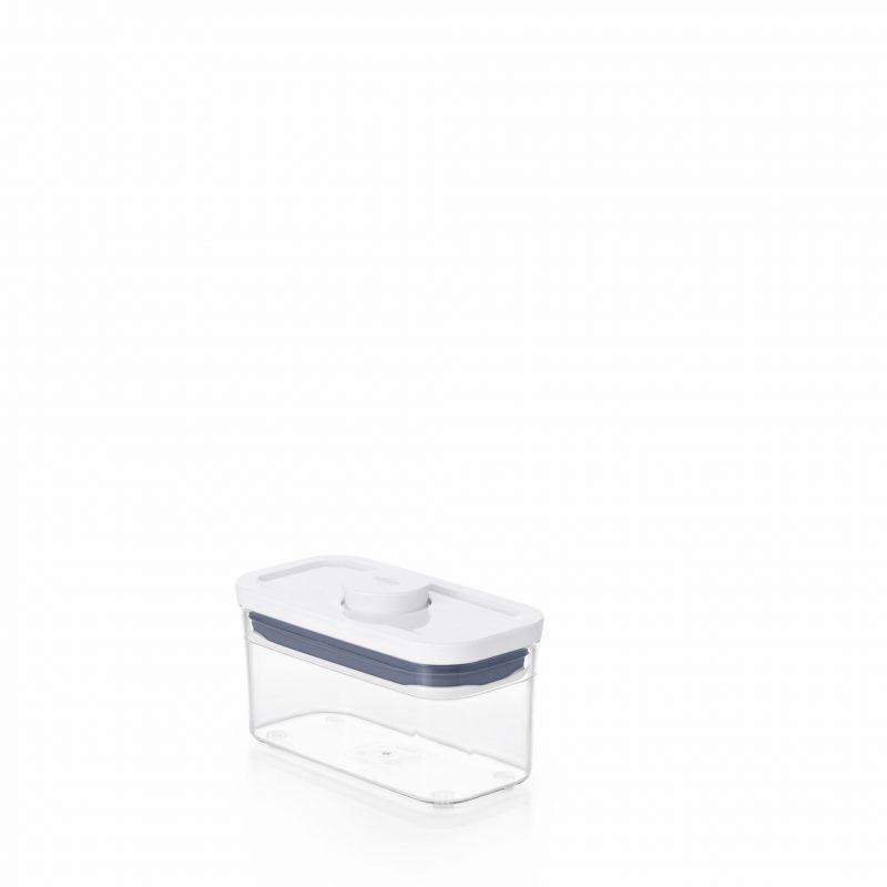 美國 OXO POP 細長方按壓保鮮盒 0.4L