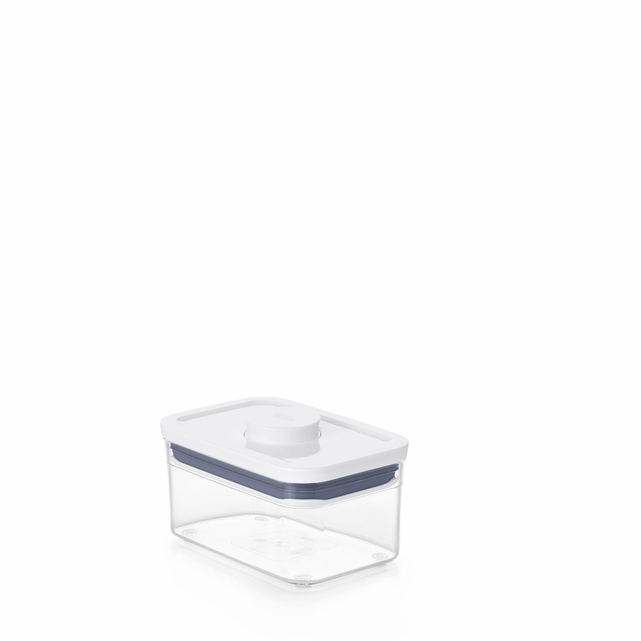 美國 OXO POP 長方按壓保鮮盒 0.6L