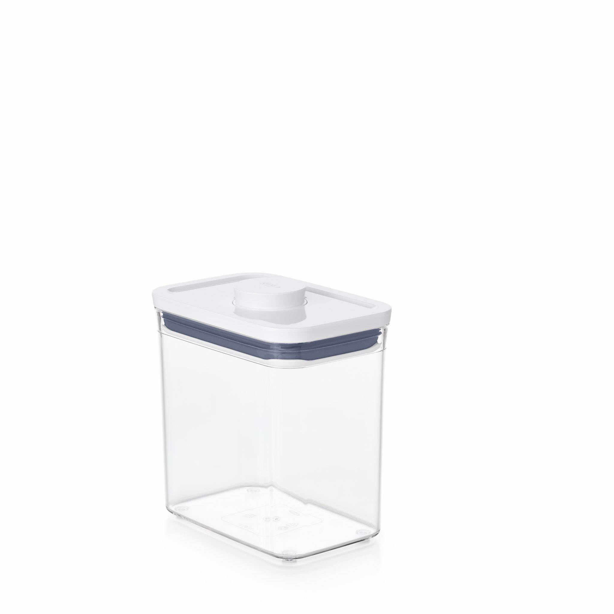 美國 OXO POP 長方按壓保鮮盒 1.6L