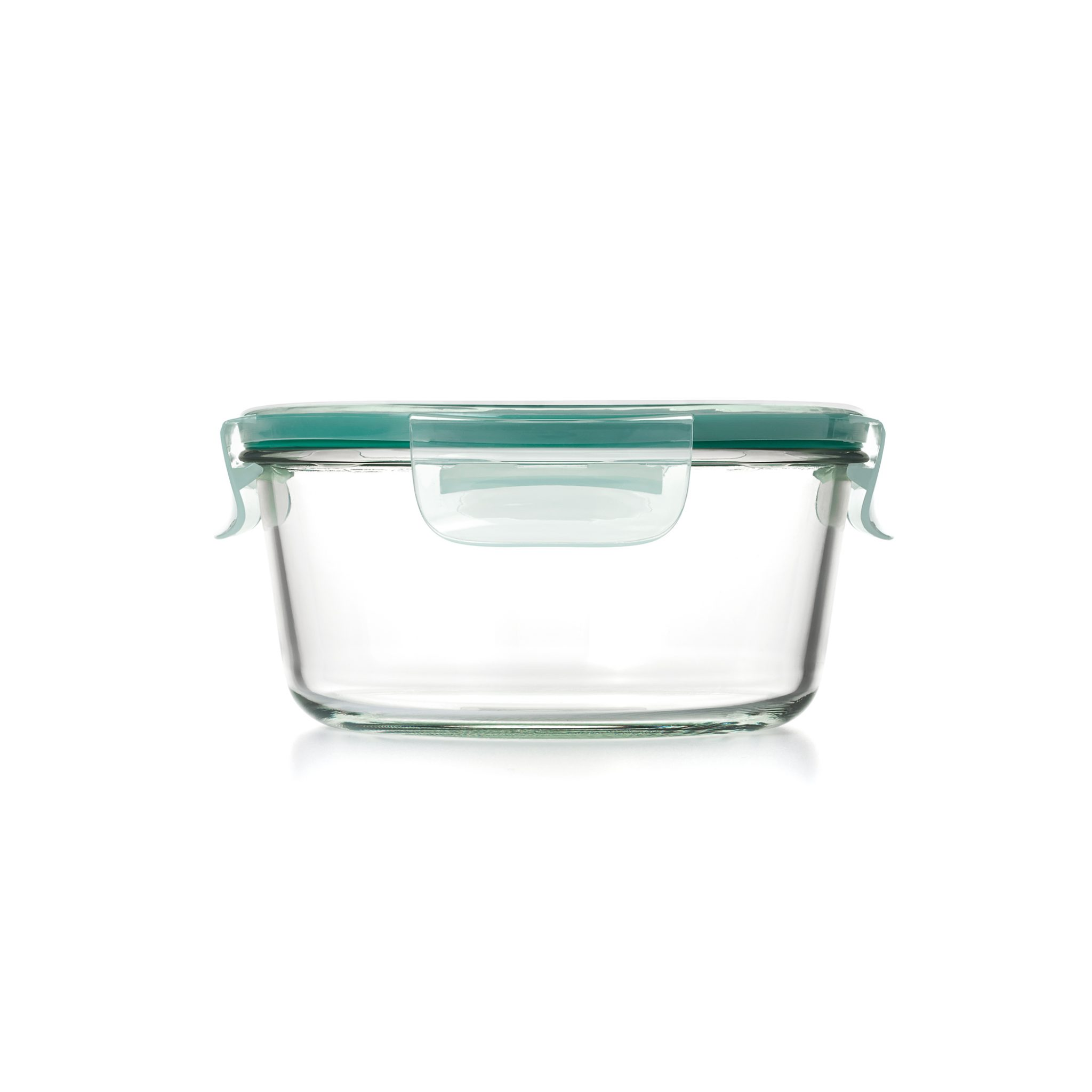 美國 OXO 耐熱玻璃保鮮盒 圓形 1.65L